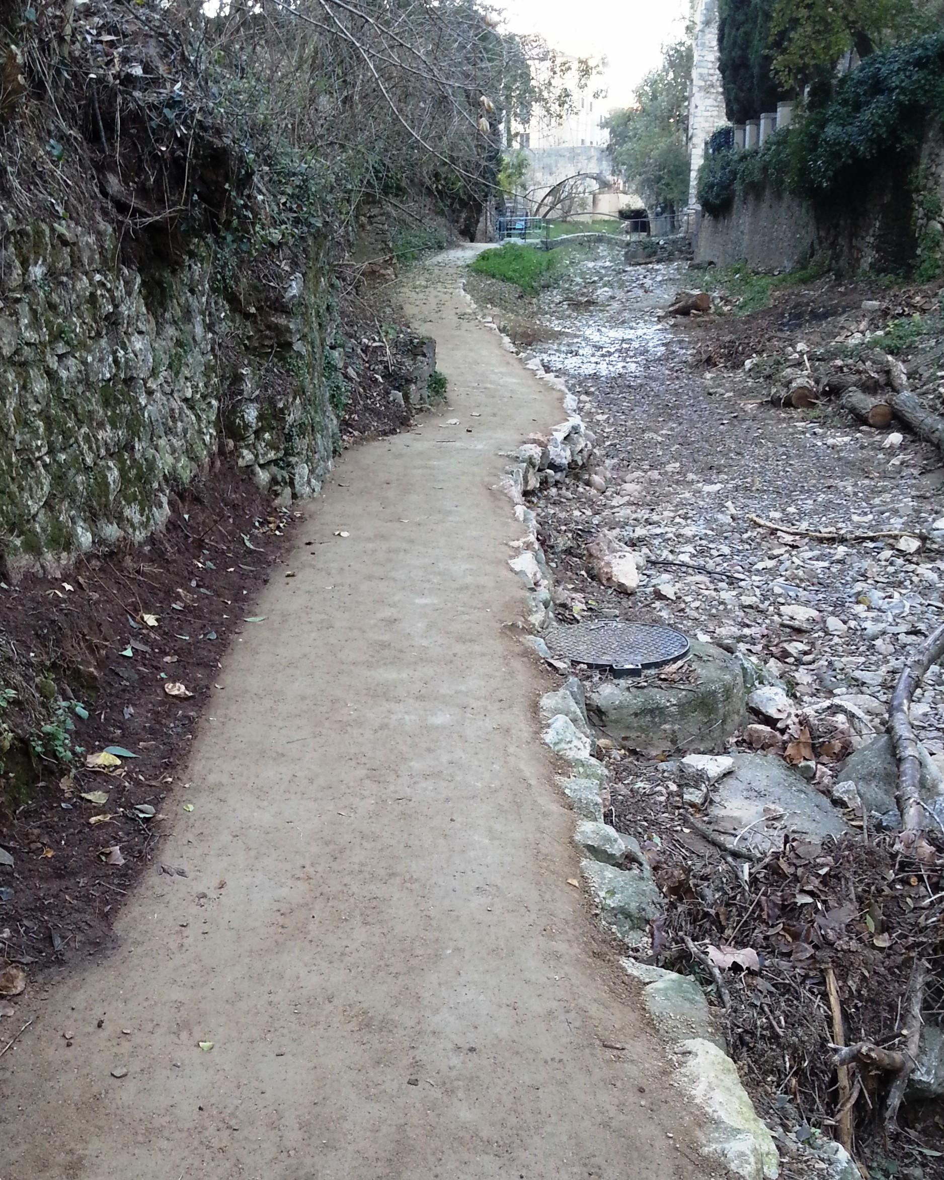 SAULO SOLID Itinerari Galligants - Girona